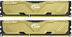 TeamGroup Vulcan gold DIMM Kit 16GB, DDR3-2133, CL10-12-12-31 (TLYED316G2133HC10QDC01)