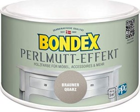 Bondex Perlmutt-Effekt Farbe innen Holzschutzmittel brauner quarz, 500ml (424274)