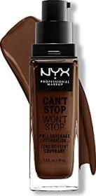 NYX Can't Stop Won't Stop Foundation deep espresso, 30ml