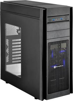 SilverStone Kublai KL05 schwarz, Acrylfenster (SST-KL05B-W)