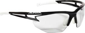 Alpina Eye-5 HR VL+ schwarz matt-weiß/grau (A8531.1.31)