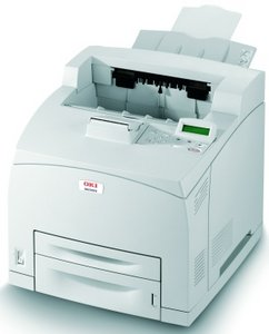 OKI B6300n, B&W-laser (09004085)