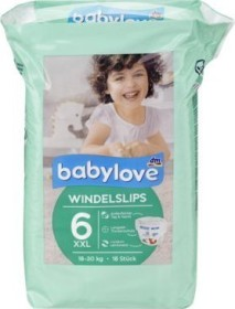 Babylove Pants Gr.6 XXL Einwegwindel, 18-30kg, 18 Stück