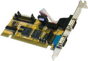 Exsys EX-40032, 2x seriell, ISA
