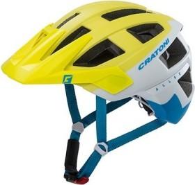 Cratoni AllSet Helm blue/lime/orange matt
