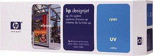 HP DesignJet Tintensystem CP UV cyan (C1893A)