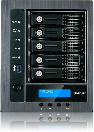 Thecus N5810PRO 15TB, 5x Gb LAN