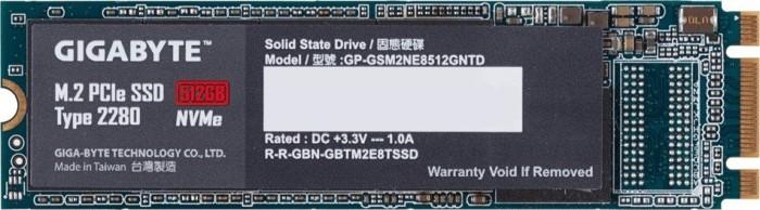 Gigabyte M.2 PCIe SSD 512GB, M.2 (GP-GSM2NE8512GNTD)
