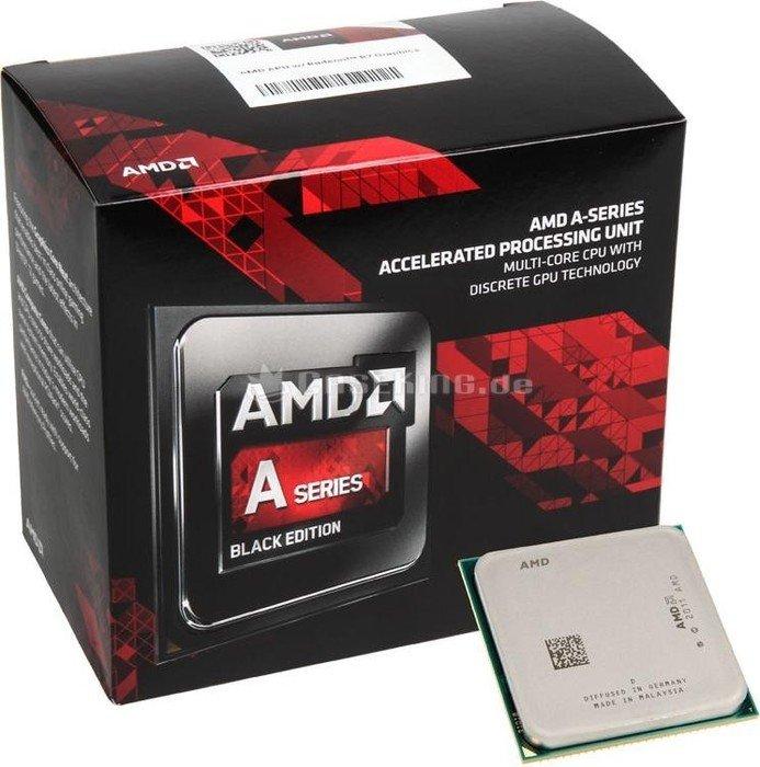 AMD A10-7860K Black Edition, 4x 3.60GHz, boxed mit Low-Noise-Kühler (AD786KYBJCSBX) -- © caseking.de