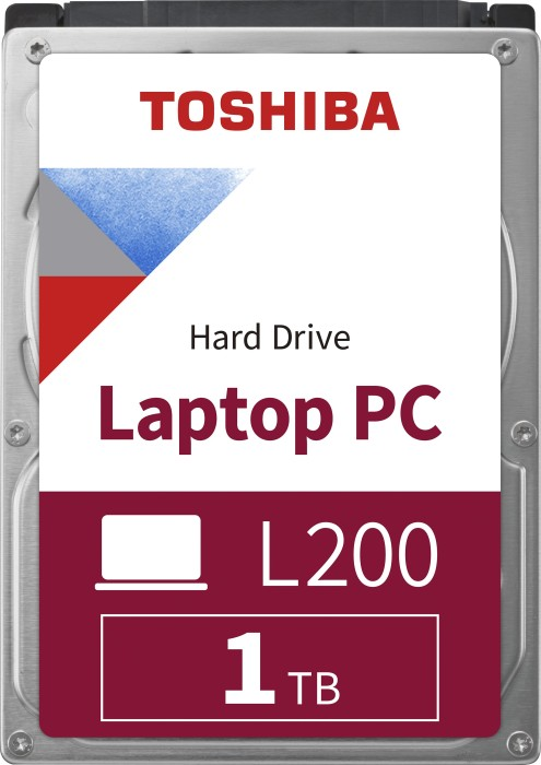 Toshiba L200 Slim 1TB, SATA 6Gb/s, retail (HDWL110EZSTA)