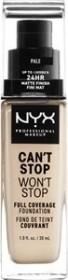 NYX Can't Stop Won't Stop Foundation medium buff, 30ml