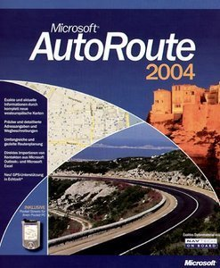 Microsoft: carroute 2004 Europe (PC) (B17-00089)