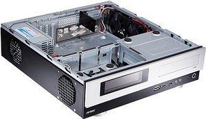 Antec Micro fusion Remote 350 black/silver, 350W SFX12V (0761345-08744-5)