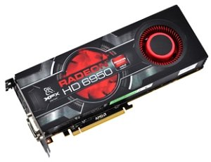 XFX Radeon HD 6950 800M ATI-Design, 2GB GDDR5, 2x DVI, HDMI, 2x mini DisplayPort (HD-695A-CNFC)
