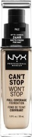 NYX Can't Stop Won't Stop Foundation neutral buff, 30ml