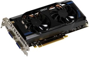MSI N560GTX-Ti-M2D1GD5/OC, GeForce GTX 560 Ti, 1GB GDDR5, 2x DVI, mini HDMI (V232-259R)