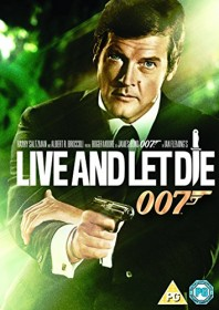 James Bond - Live and Let Die (DVD) (UK)