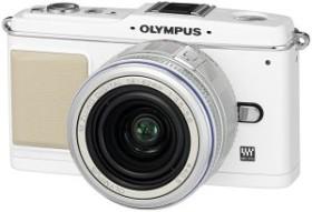 Olympus PEN E-P1 weiß mit Objektiv M.Zuiko digital ED 14-42mm (N3592792)