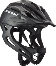 Cratoni C-Maniac Fullface-Helm schwarz matt (112402B1/112402B2/112402B3)