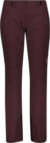 Scott Ultimate DRX Skihose lang red fudge (Damen) (277717-3850)