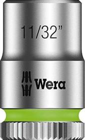"""Wera 8790 HMA Zyklop zöllig Außensechskant Stecknuss 1/4"""" 11/32""""x23mm (05003519001)"""