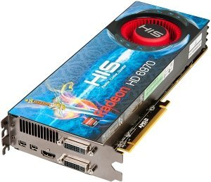 HIS Radeon HD 6970, 2GB GDDR5, 2x DVI, HDMI, 2x mini DisplayPort (H697F2G2M)