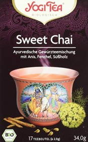 Yogi Tea sweet Chai Tea, 17 bag