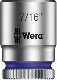 """Wera 8790 HMA Zyklop zöllig Außensechskant Stecknuss 1/4"""" 7/16""""x23mm (05003521001)"""