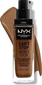 NYX Can't Stop Won't Stop Foundation sienna, 30ml