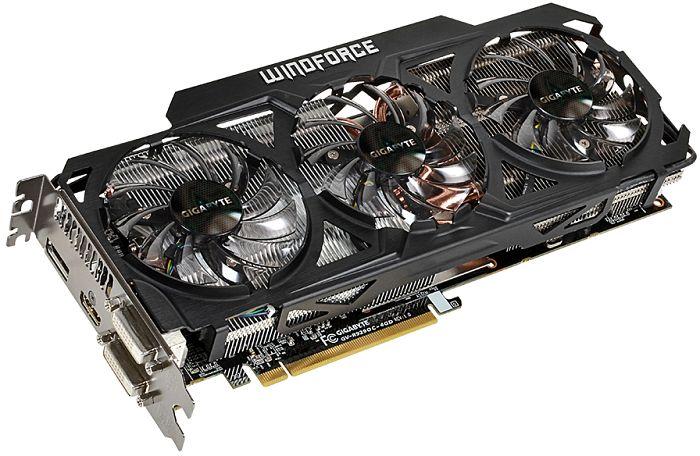 Gigabyte Radeon R9 290 Windforce 3X OC, 4GB GDDR5, 2x DVI, HDMI, DisplayPort (GV-R929OC-4GD)
