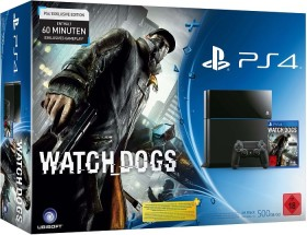 Sony PlayStation 4 - 500GB Watch Dogs Bundle schwarz