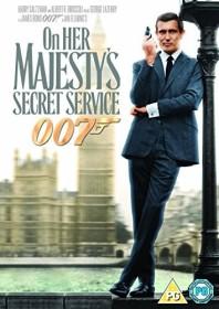 James Bond - On Her Majesty's Secret Service (DVD) (UK)