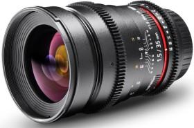 Walimex Pro 35mm 1.5 VDSLR for Canon EF black (18716)