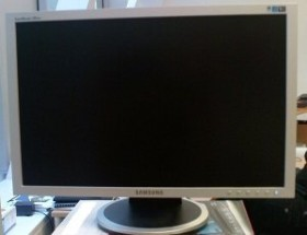 "Samsung SyncMaster 205BW, 20"" (LS20HAWCSQEN)"