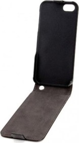 Xqisit Flip Cover for iPhone 5 black (13009)