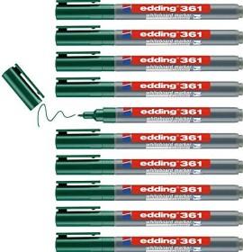 edding 361 Whiteboardmarker grün, 10er-Pack (4-361004#10)