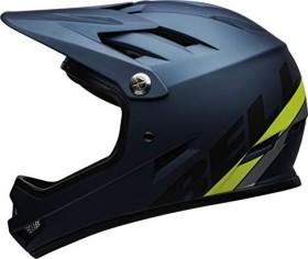 Bell Sanction Fullface-Helm agility matte blue/hi-viz