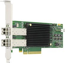 Broadcom LPe31000 Serie Emulex Gen6, 2x LC-Duplex/Fibre Channel, PCIe 3.0 x8 (LPe31002-M6)