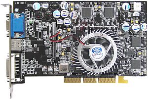 Sapphire Atlantis Radeon 9700 Pro, 128MB DDR, DVI, TV-out, AGP