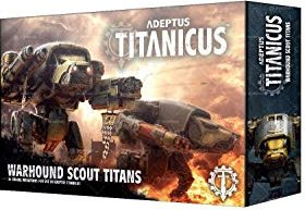 Games Workshop Warhammer 40.000 Adeptus Titanicus - Warhound Scout Titans (99120399006)