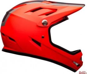 Bell Sanction Fullface-Helm agility matte orange/schwarz