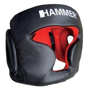 Hammer Sparring Kopfschutz Leder