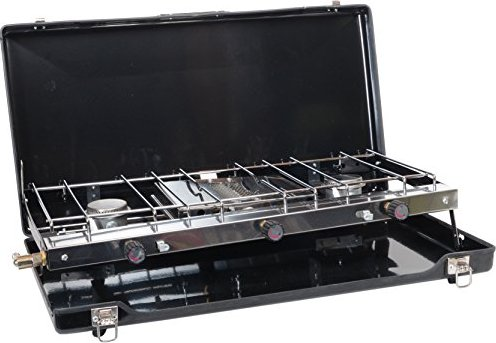 GoSystem Dynasty Trio gas cooker -- via Amazon Partnerprogramm