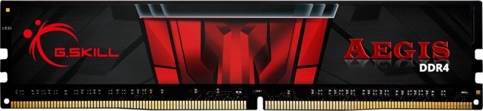 G.Skill Aegis DIMM 4GB, DDR4-2400, CL15-15-15-35 (F4-2400C15S-4GIS)