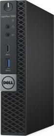 Dell OptiPlex 7050 Micro, Core i5-7500T, 8GB RAM, 256GB SSD (12WHD)