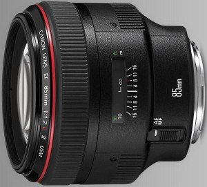 Canon EF 85mm 1.2 II L USM black (1056B005)