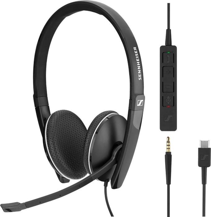 Sennheiser SC 165 USB-C schwarz (508356)