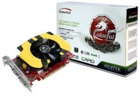 Colorful GeForce GT 240, 512MB GDDR5, VGA, DVI, HDMI