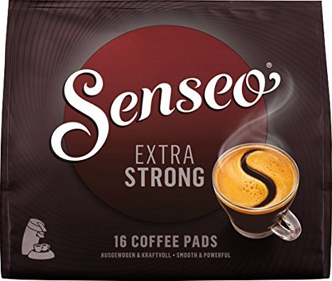 Douwe Egberts Senseo Extra Strong coffee pads, 16-pack