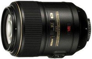 Nikon AF-S Micro 105mm 2.8G IF-ED VR schwarz (JAA630DA)